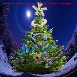 Happy Christmas from Masterflex Technical Hoses Ltd