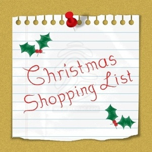 christmas-shopping-list-reminder-note-stuck-on-notice-board