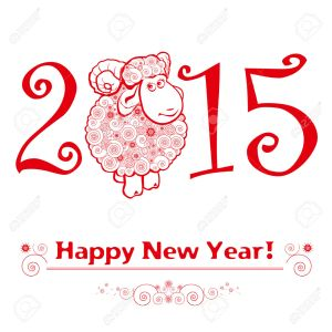 31086719-Funny-sheep-on-white-background-and-Happy-new-year-2015-Chinese-symbol-vector-goat-2015-year-illustr-Stock-Vector