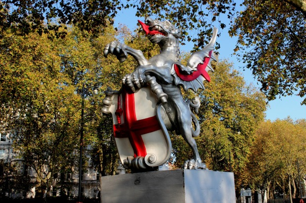 St George the Brave, England's PatronSaint.